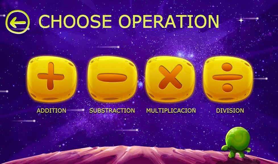 sumas, restas, multiplicación y división