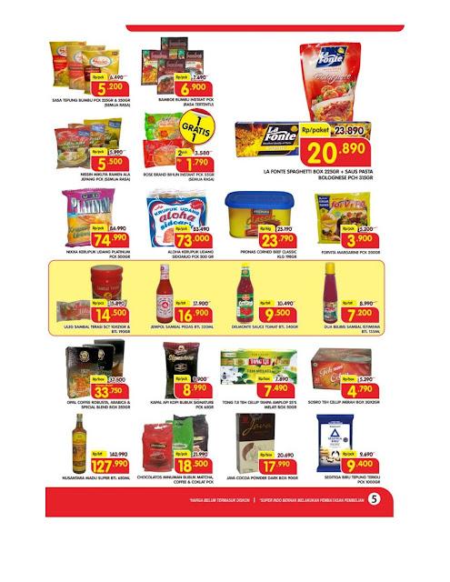 Katalog Super Hemat Super Indo Yogyakarta Magelang Solo Gumpang Salatiga  dan Semarang 17 Januari sampai 21 Januari 2019