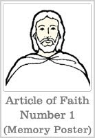A Year of FHE: Articles of Faith Memorization Posters
