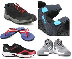 Minimum 50% OFF on Men's Reebok & Adidas Footwear + 10% Extra off with SBI Cards @ Flipkart