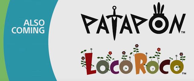 Anunciadas remasterizaciones de PaRappa the Rapper, LocoRoco y Patapon