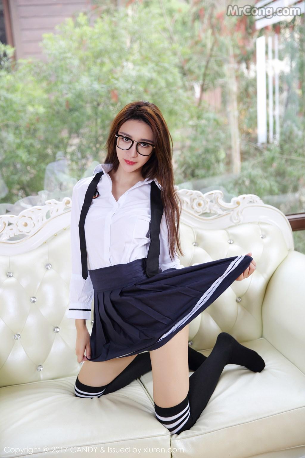 Image CANDY-2017-04-28-Vol.020-Yi-Li-Na-MrCong.com-008 in post CANDY Vol.020: Người mẫu Yi Li Na (伊莉娜) (59 ảnh)