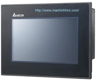 Cung cấp màn hình HMI Delta 7'' inch DOP-B07PS415, hỗ trợ E-Cam cho Servo ASDA-A2 và kết nối PLC DVP-10MC DVP-20PM nạp G-Code