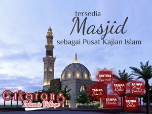 rumah syariah di cikarang Cikarang Islamic village