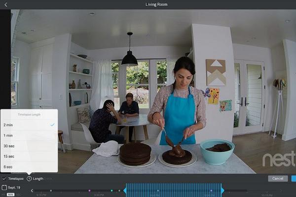 Nest Cam 可見視野達 130 度,數位時代翻攝自 Nest 官網。