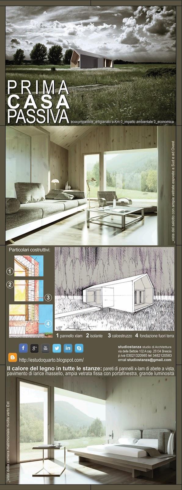 Prima Casa Passiva esempi di interni