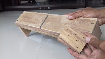 Serut Es batu manual Kayu Jati murah