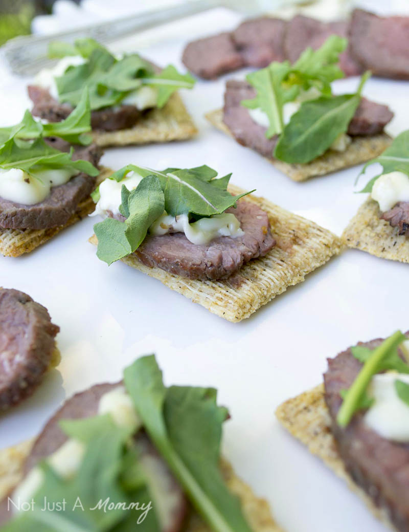 Steak + Brie TRISCUIT Crackers