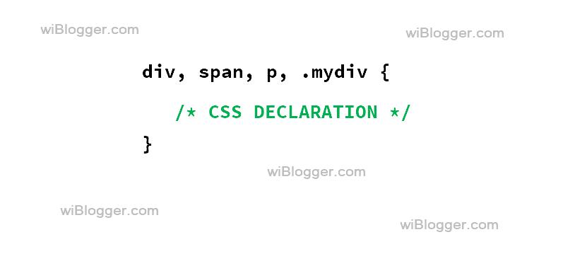 CSS Selektor lengkap