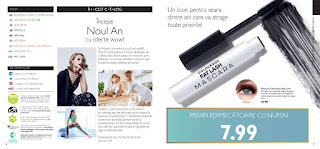 CATALOGUL ORIFLAME nr.1 21 ianuarie 2019 mascara fat lush