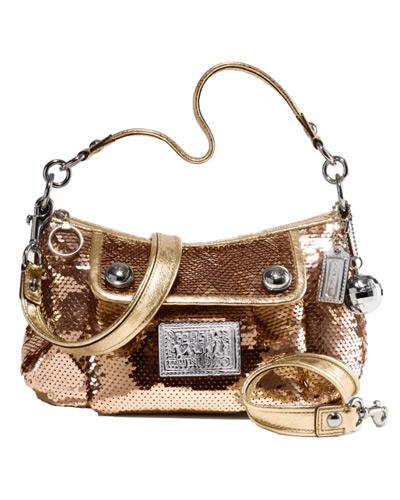 LADIES BAG ONLINE   509 - COACH POPPY SEQUIN GROOVY 15381 98c16fd4c5