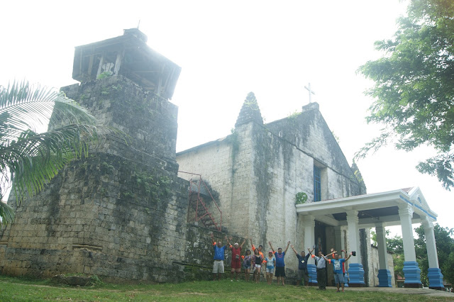 Maria Church in Siquijor