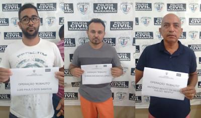 Polícia prende quadrilha especializada em roubo de camionetes no Maranhão