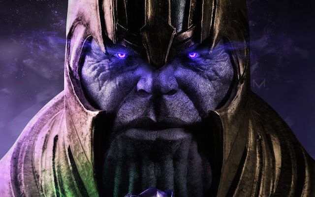 Papel de parede grátis Thanos Avengers: Infinity War para PC, Notebook, iPhone, Android e Tablet.