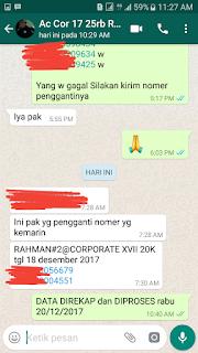 Garansi CUG Telkomsel GAGAL Berupa Ganti Nomor (GRATIS)