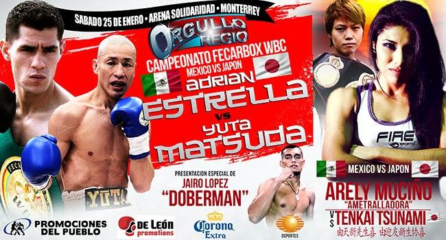 Adrian Estrella vs Yuta Matsuda en Vivo