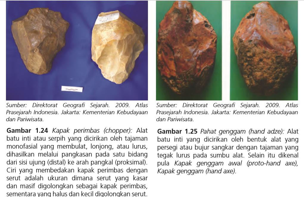 Beberapa Alat Serbaguna Dari Batu Yang Di Buat Manusia ...