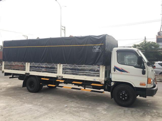 Giá hyundai HD120sl 8 tấn thùng bạt dài 6m2