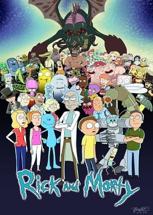 Rick e Morty - 3ª Temporada - Legendada Desenhos Torrent Download capa