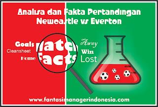 Analisa dan Fakta Menjelang Pertandingan Newcastle United vs Everton Fantasi Manager Indonesia