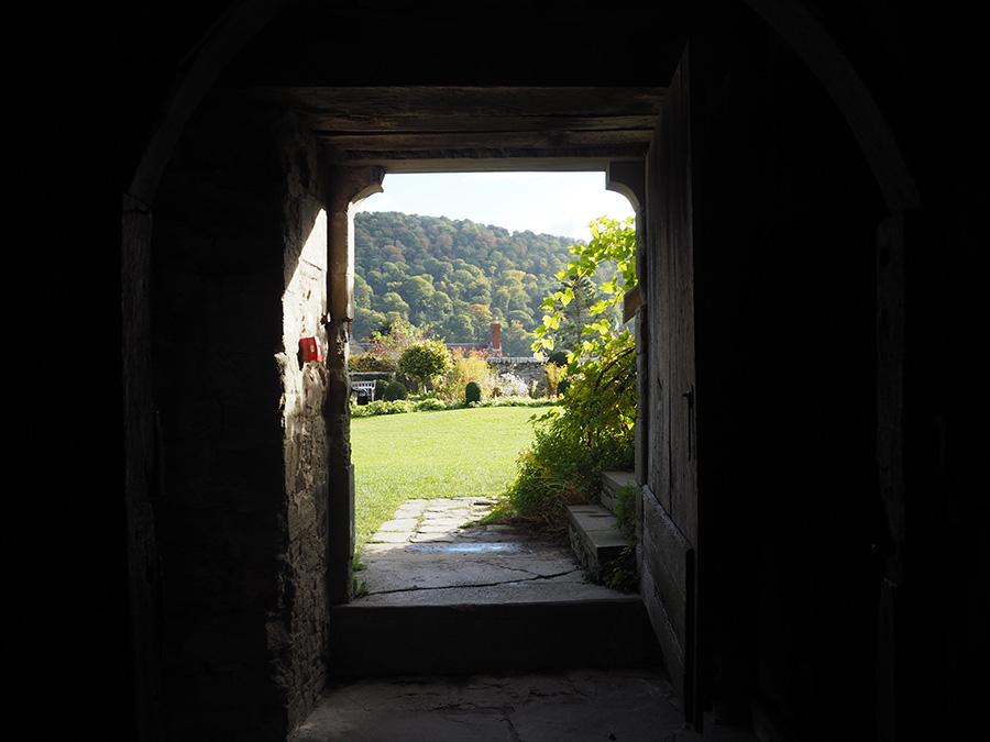 Stokesay Castle Doorway