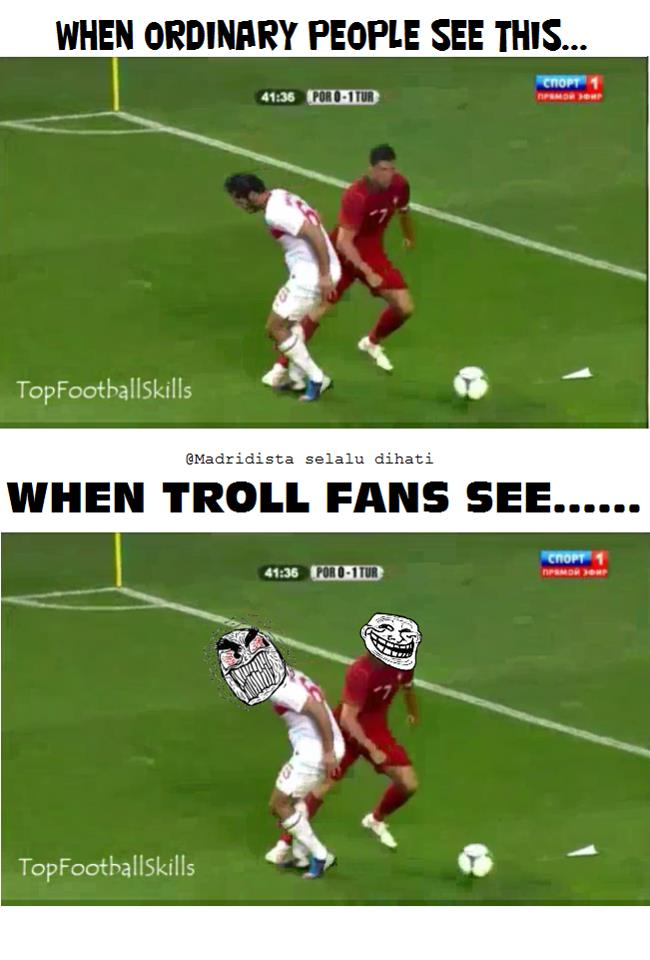 troll football cr7 trolling someone troll football