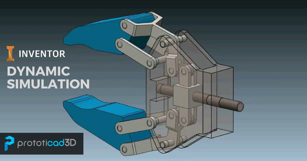 Cómo realizar una animación en Inventor mediante Dynamic Simulation