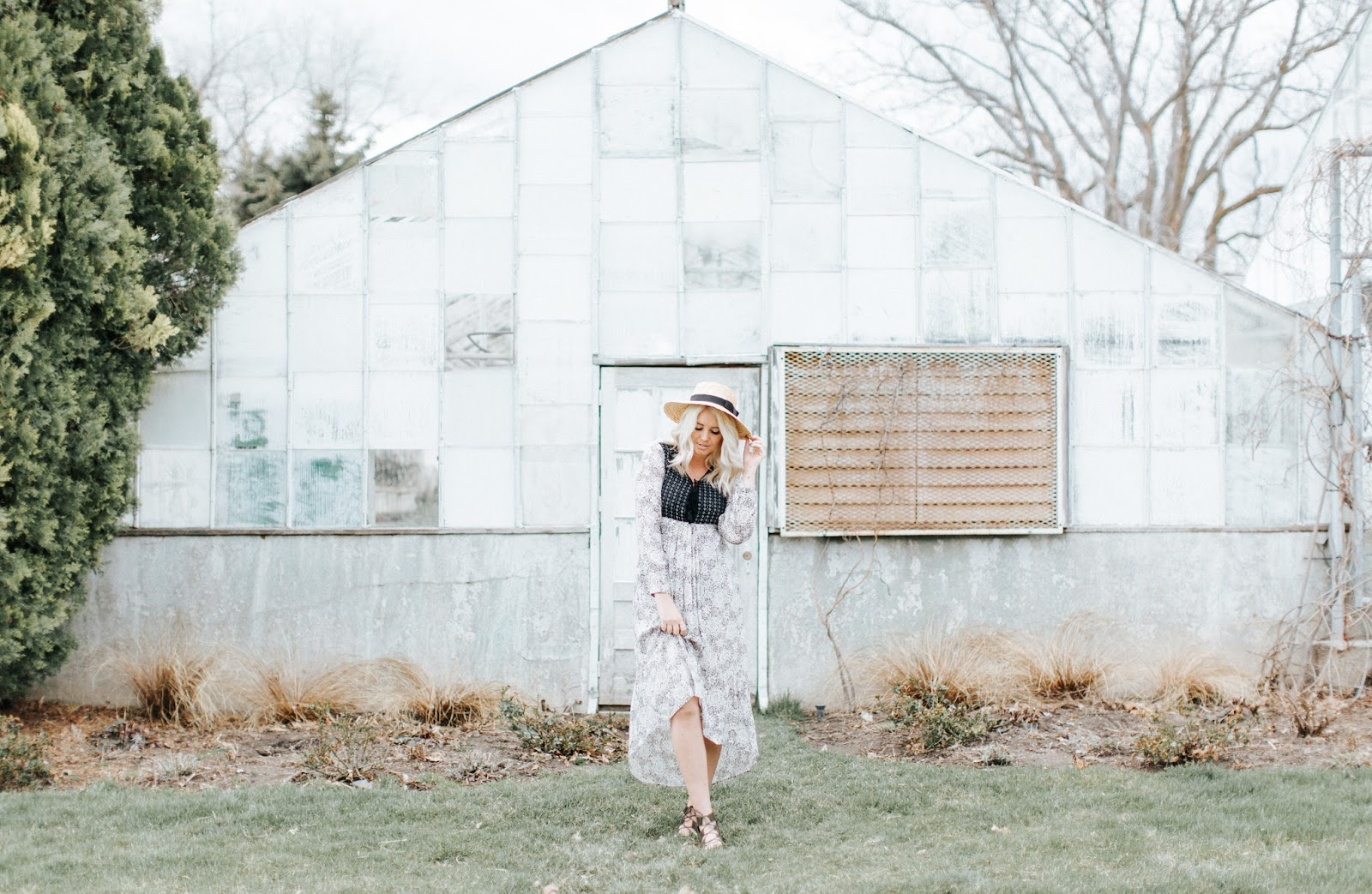 Greenhouse photoshoot, Modesty, Utah Fashion Blogger