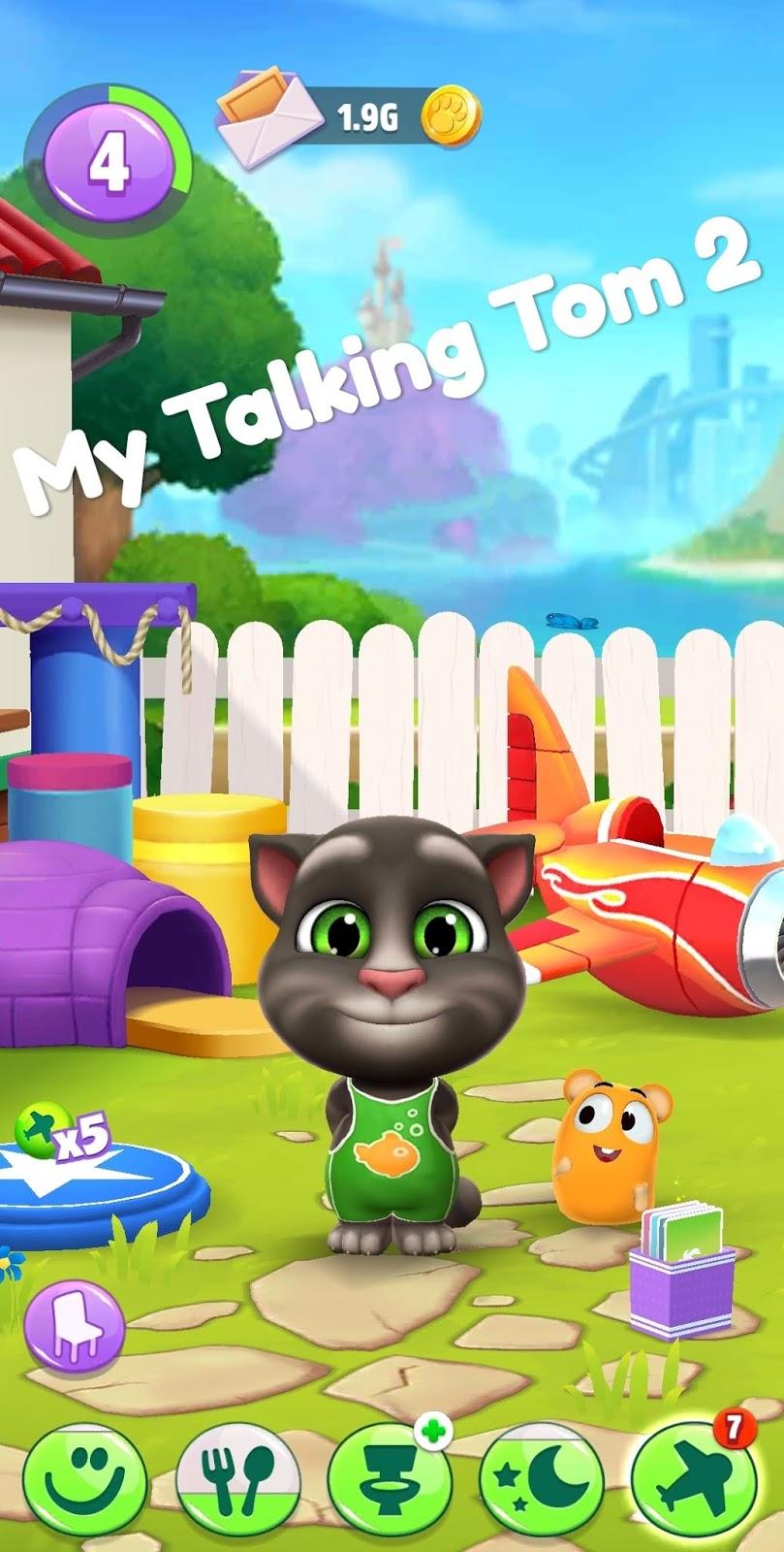 My Talking Tom 2 Mod Apk Version 1 3 4 443 Unlimited Money