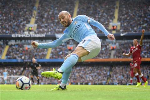 David Silva đang chơi rất tốt trong màu áo Man City