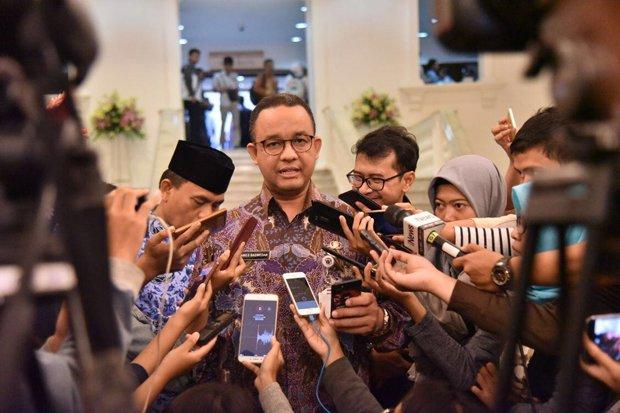 Anies Kaget Disebut Gubernur Indonesia oleh Mendagri