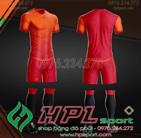 Áo bóng đá không logo KeepFly Snake màu đỏ