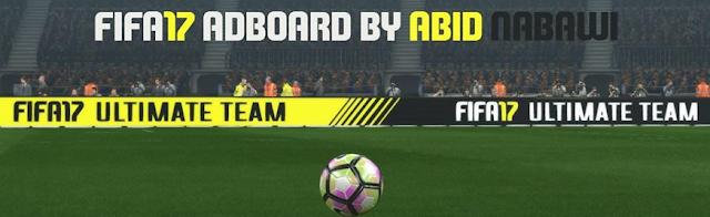 FIFA 2017 Animated Adboard untuk PES 2017 dari ZaMan & Abid