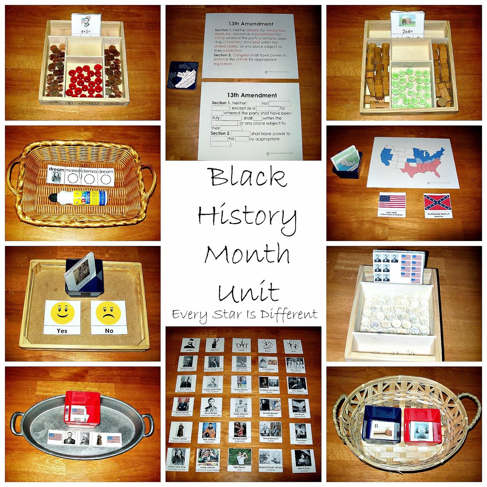 Black History Ideas For Preschoolers