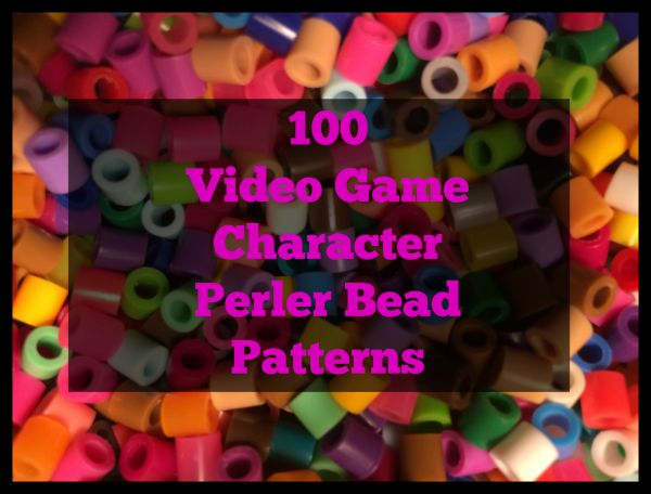 And She Games Perler Bead Patterns Video Game Edition