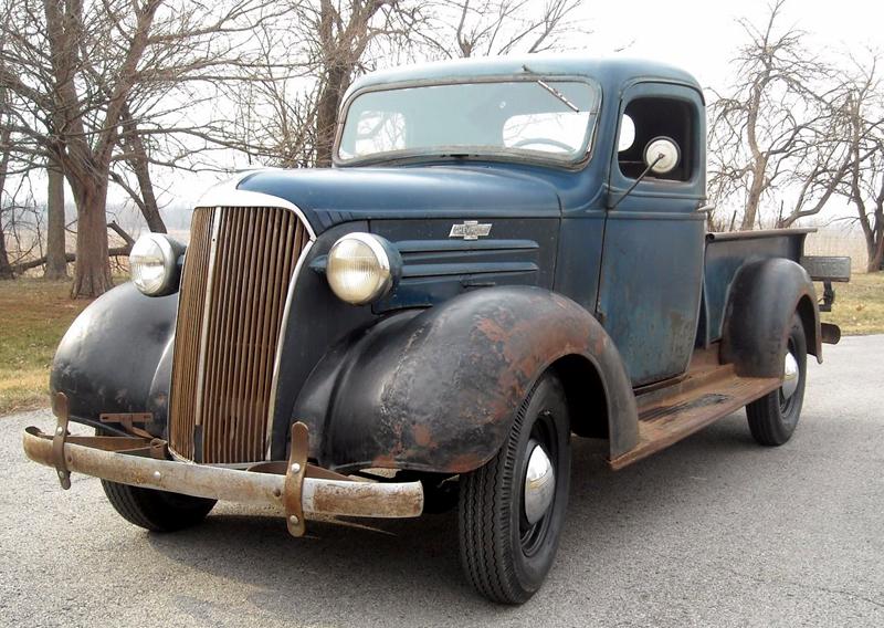 247 Autoholic Truck Tuesday 1937 Chevy