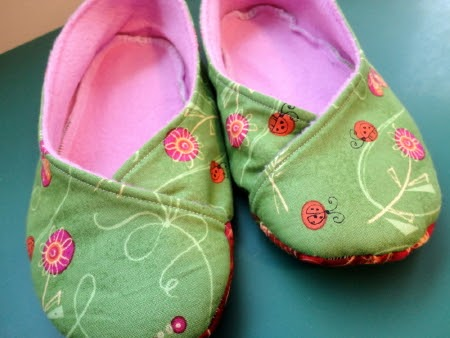 How To Sew A Lining In Baby Shoes