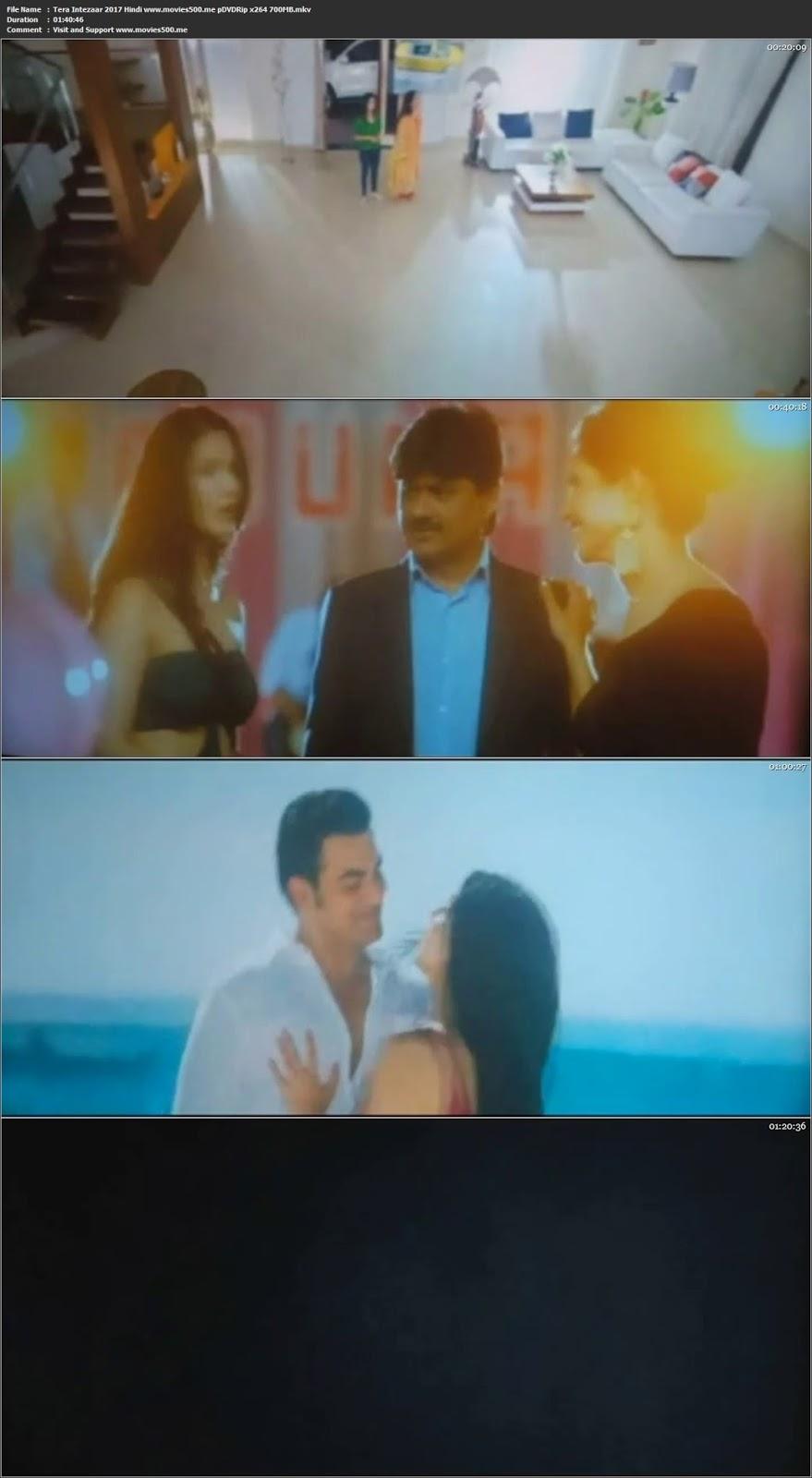 Tera Intezaar 2017 Hindi Full Movie PDVDRip 720p at movies500.me