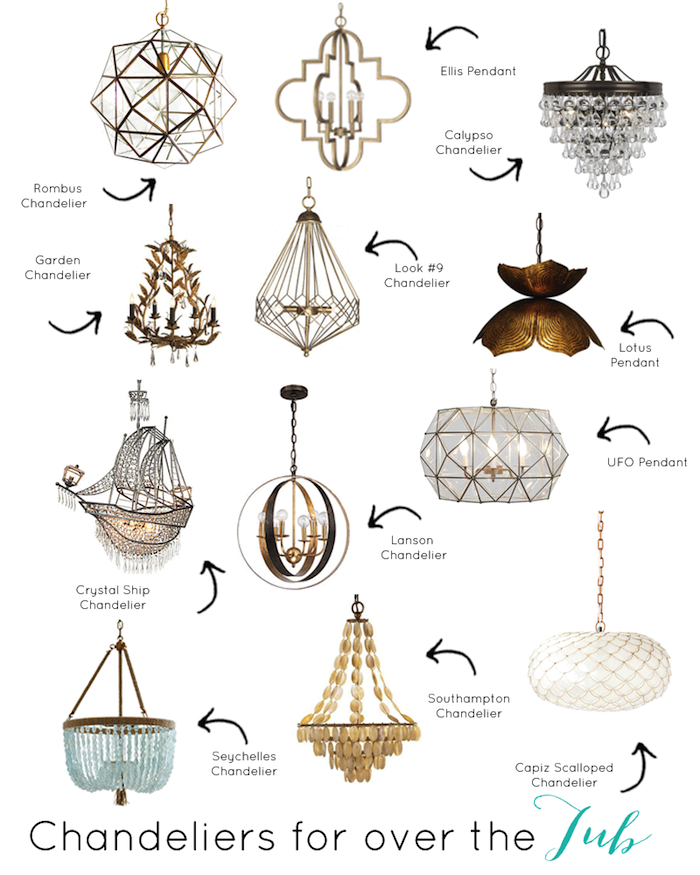 Bathtub Chandelier: The Best Light Fixtures To Hang Over A Tub