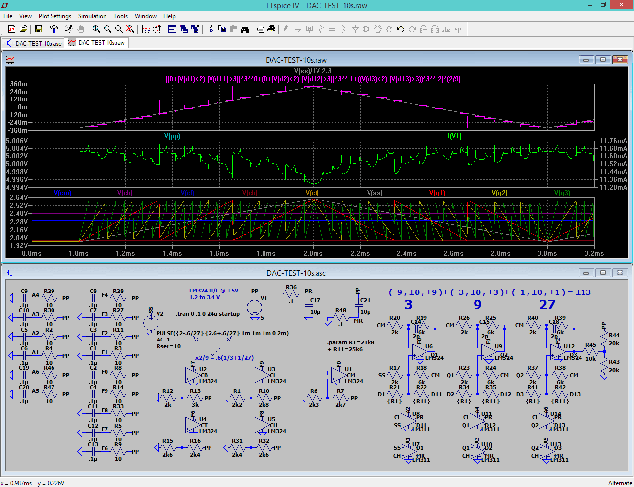 Chips Tech 2017 Lm741 A D Converter The Circuit Shown Is An 8 Bit Binary Radix 3 Output Can Be Converted To By Summers For Example
