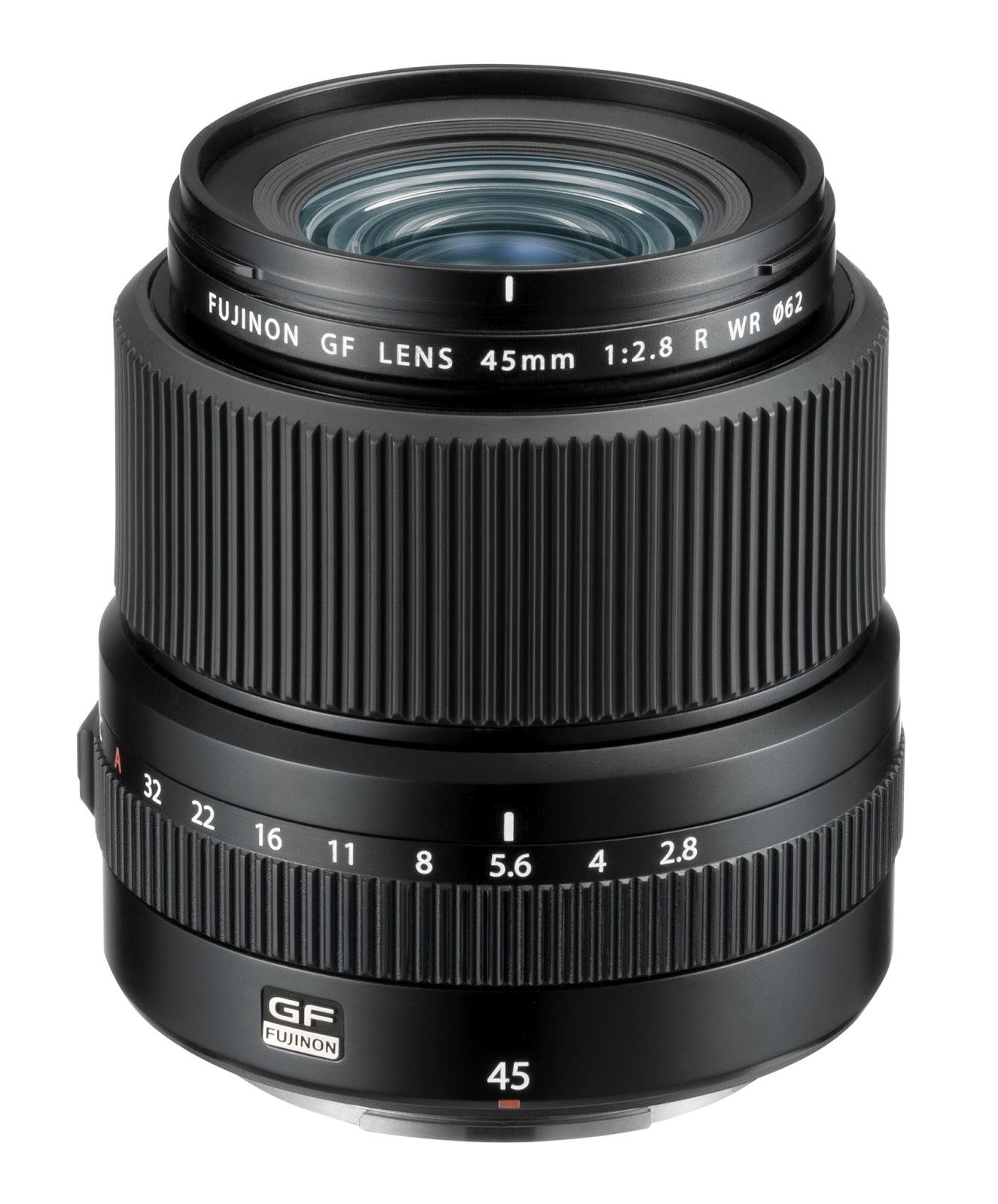 Объектив Fujinon GF 45mm f/2.8 R WR