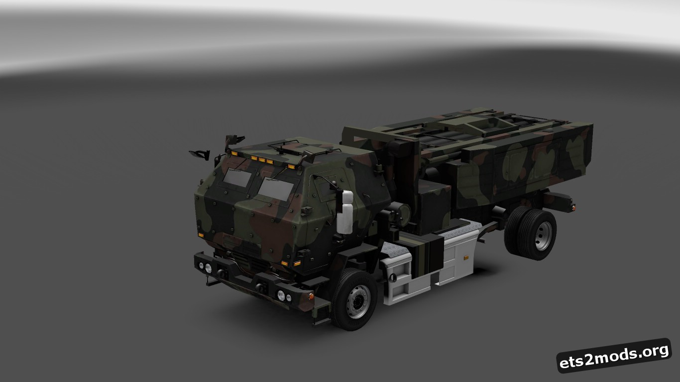 ETS2 Military Truck mod [1.26]