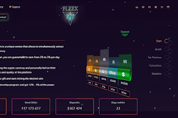 Bukti Pembayaran Mining Gratis dari Fleex.cc (Scam!)