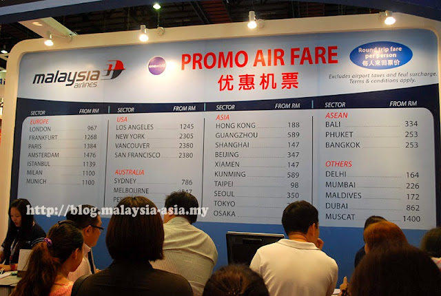 Cheap Malaysia Airlines Tickets at the MAtta Fair September 2013