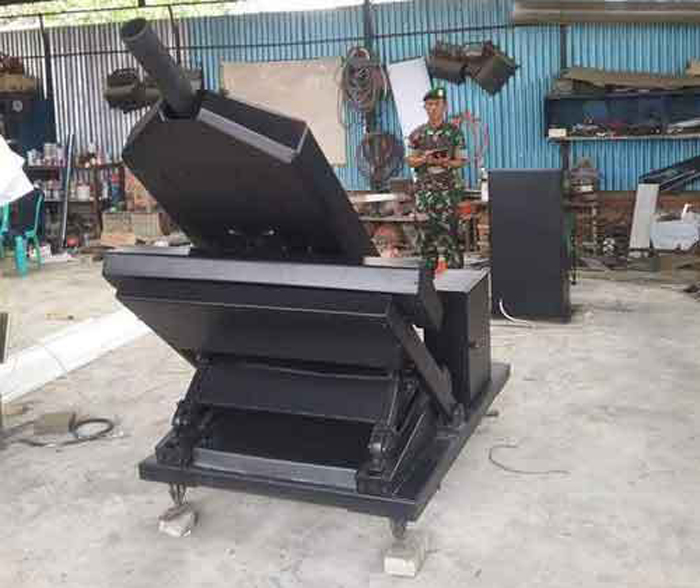 Mortir Super Rapid 81 mm Rancangan Litbang TNI AD