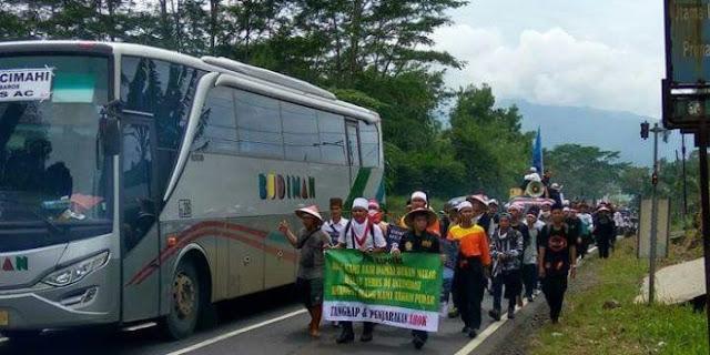 Kafilah Ciamis: TNI Meremehkan, Sudah Habis Tenaga Buat Jalan, Malah Disuruh Pulang