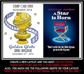 November 2018 Golden Globe Stash Challenge