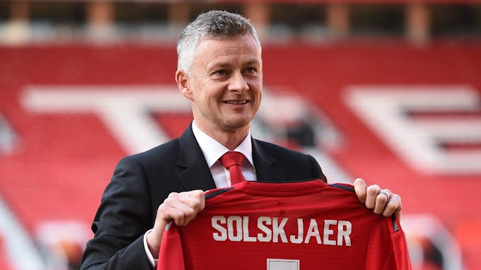 Manchester United  makes Solskjaer permanent Coach, promise Early summer signings