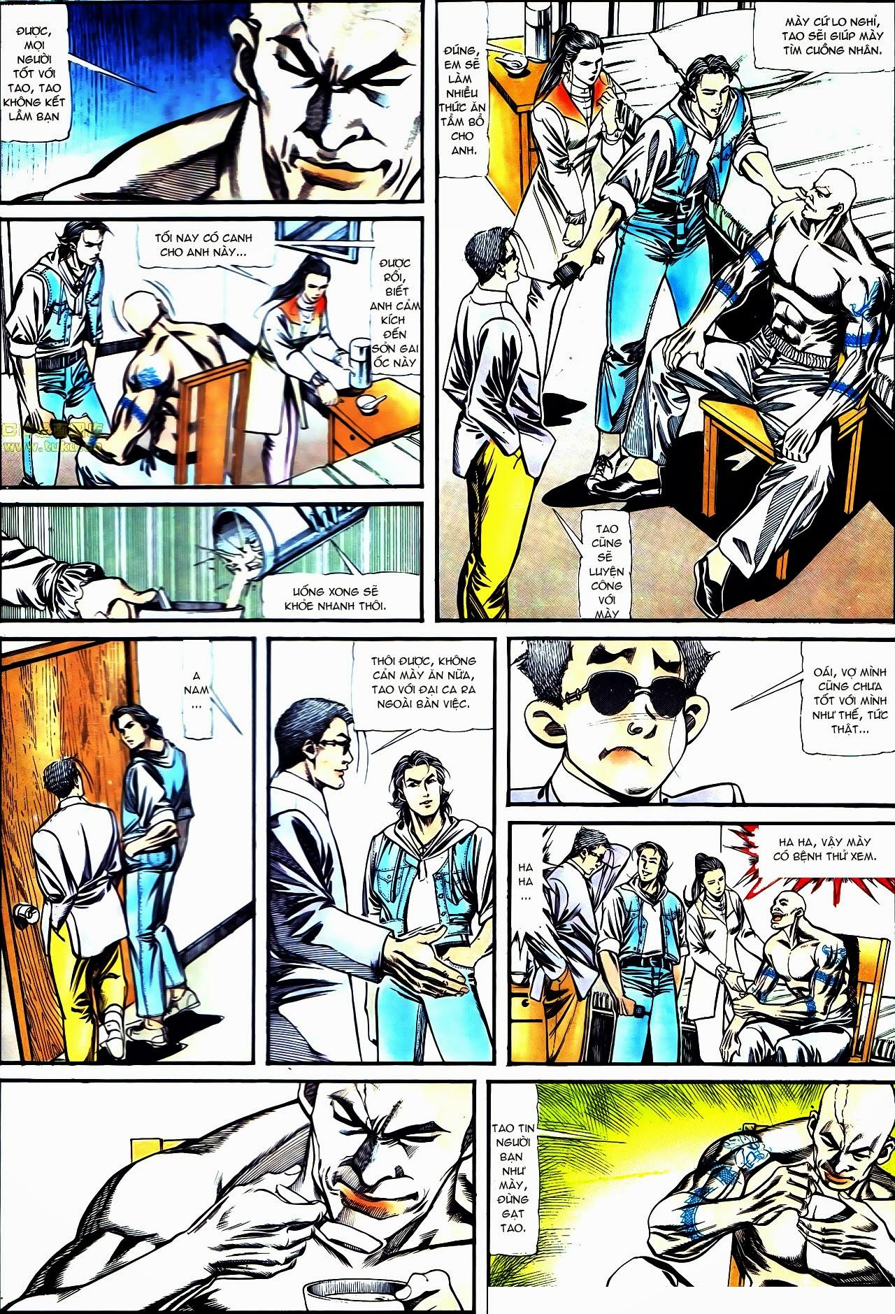 Người Trong Giang Hồ chapter 122: phố dục lạc trang 27