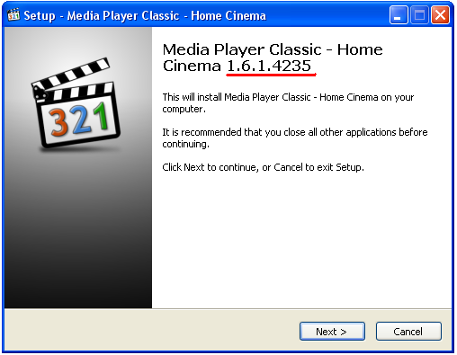 Media Player Classic Home 123 2012 1.6.1